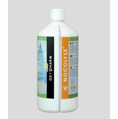 Nocolyse, 6%, H2O2 based disinfectant, 1L from Oxypharm